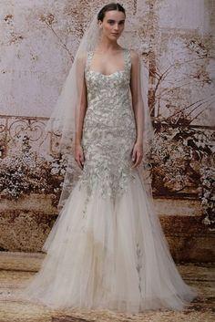 vestidos de novia color plata -2014