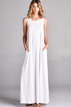 Stella Casual Pocket Maxi Dress (6 Additional Colors)