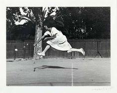 Suzanne Lenglen by Jacques Henri Lartigue, 1921 - The Eye of Photography Magazine