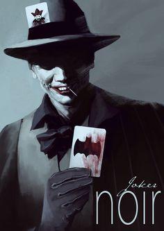 Artista recria personagens do universo Batman ao estilo de filmes noir! - Legião dos Heróis