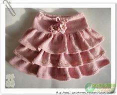 МК по вязанию детской юбки с воланами<br><br>Зимой очень удобно носить штаны и брюки. Так делают многие женщины, но маленькую девочку всегда хочется одевать как принцессу: в платья, юбочки, сарафаны и кружева. <br>Эта юбочка, связанная спицами, отличный вариант для осенней и зимней погоды в сочет..