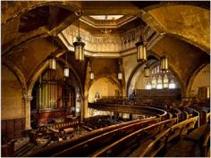 abandoned theater, Detroit