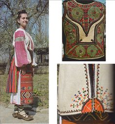 Romanati, Oltenia (Wallachia) Folk Costume, Costumes, Romania, Folk Clothing, Textiles, The Incredibles, Traditional, Embroidery, Beauty