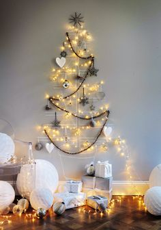 Merry + bright. I would like to do this this year until we get a bigger place