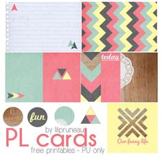 Free Journal Cards for Project Life from Project Life from Le blog de Lilipruneau