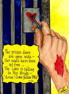 Jesus has set our souls free... www.facebook.com/TheGoodNewsCartoon
