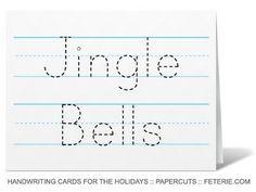 Handwriting Cards