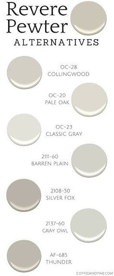 awesome Revere Pewter Alternatives by http://www.best99-home-decor-pics.club/home-decor-colors/revere-pewter-alternatives/
