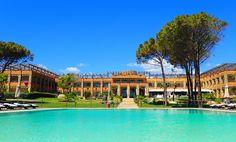 infinity Pool Best Hotels In Sardinia, Hotel Guest, Beach Umbrella, Beach Pool, White Stone, Hotel Deals, Summer Sun, Optical Illusions, Beautiful Beaches