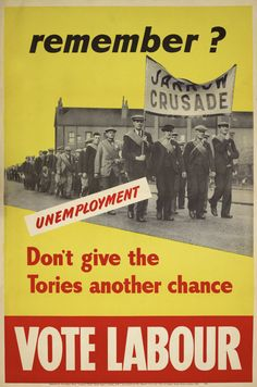 1950 Labour Party Poster
