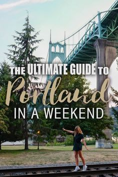 Guide to Portland in