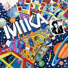 Album Cover Critiques: Mika - Cartoon Covers