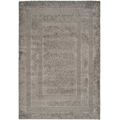 This hand-woven shag rug brings funky style to any room. Made from polypropylene and featuring a canvas backing, this rug is very durable and long-lasting. The unique high-low pile and power-loomed shag provides soft comfort to your tired feet.