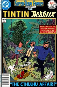 Super-Team Family: The Lost Issues!: Tintin and Asterix