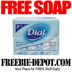 FREE Dial Soap - Exp 8/1/14
