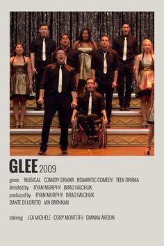 Alternative Minimalist Movie/Show Poster - Glee Iconic Movie Posters, Minimal Movie Posters, Iconic Movies, Disney Movie Posters, Film Polaroid, Western Film, Western Movies, Dirty Dancing, Poster Wall