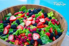 beautiful salad by FullyRawKristina