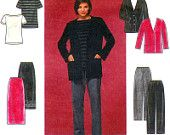 Simplicity Sewing Pattern 8800 Misses' Skirt, Pants, Knit Cardigan and Top