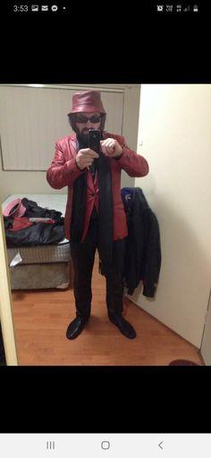 Red Leather, Label, Suit, Colour, Clothing, Summer, Men, Design, Color