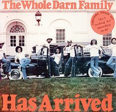 TYRONE THOMAS & THE WHOLE DARN FAMILY / Has Arrived (1976)