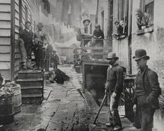 Jacob Riis was a social activist through his photography of New York slums and living & working conditions of the poor. Description from pinterest.com. I searched for this on bing.com/images