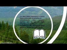 Bases y Estructura de un Texto Informativo - YouTube