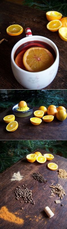 Christmas mulled wine (with a secret ingredient)