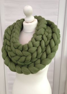 Chunky infinity scarf, 70+ colours crochet knit scarf, Super chunky bulky, Knitted scarf, knitting, extreme knitting Merino, chunky yarn, by WoolCoutureCompany on Etsy https://www.etsy.com/listing/230545137/chunky-infinity-scarf-70-colours-crochet