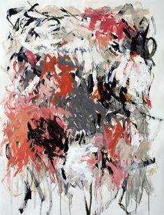 """Saatchi Art Artist Julie Schumer; Painting, """"White Landscape with Gray"""" #art"""