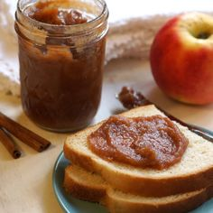 How to Make Apple Butter (No Added Sugar) Recipe with apples, ground cinnamon…