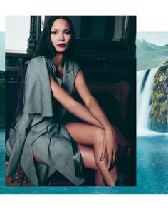 Pintrest: @Loveamarie88  >> Lais Ribeiro stars in FLAUNT Magazine's Spring 2017 issue