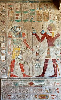Story Buildings of Egypt :: Temple of Queen Hatshepsut