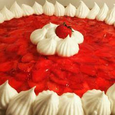 #frutilla #frutillasconcrema #tarta