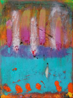 So LIfe Is a Mix    Original Abstract Acryllic by LivsGlad on Etsy, $300.00