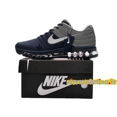brand new 77c8a ea524 Nike Air Max 2017 Dark Blue Men Shoes have a high quaity with memorable  meaning.Nike Air Max 2017 Men awesome appearance well tells the spirit of  sports and ...