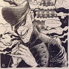 Charlie Manx Nos4a2, Best Authors, Manx, Joker, Fandoms, Comics, Curiosity, Anime, Fictional Characters