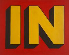 3Roy Lichtenstein, In, 1962. Oil on canvas, 56 x 68 inches (142.2 x 172.7 cm). Solomon R. Guggenheim Museum, New York