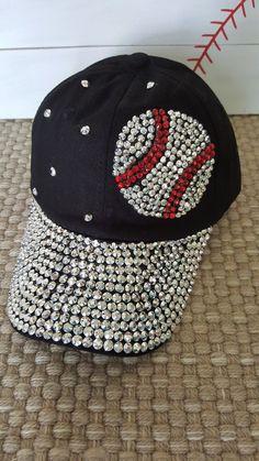brand new 06ae9 da1f2 Baseball Bling Hat