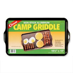 Coghlan's Two-Burner Non-Stick Camping Griddle - Walmart.com  $19.51