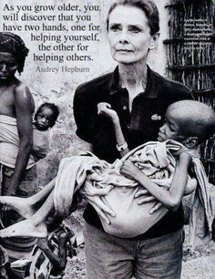 Audrey Hepburn on Helping Others