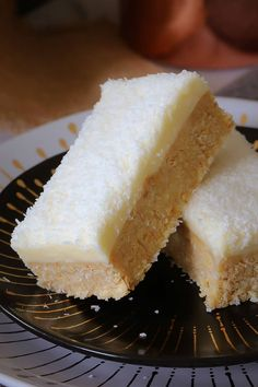 Lemon & Coconut Slice - New & Improved