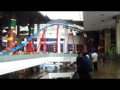 Indoor Mini Roller Coaster at Infiniti Mall ,Malad(W) ,Mumbai