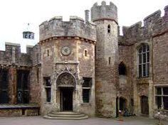 Berkeley Castle, believed to be the site of Edward II's murder