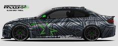 Motorsports Boss Dog Vinyl Wrap Car Wrap Vehicle
