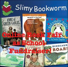 Online Book Fair as Fundraiser for Schools and Sports Teams. An easy and great way to raise money! #PTO #PTA