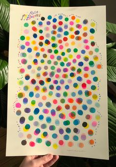 Natalie Andrewson — 'My Riso Flavors' Large Poster Sized Color Chart Mises En Page Design Graphique, Potato Print, Gold Print, Tree Print, Silk Screen Printing, Color Theory, Poster Prints, Creations, Riso Printing