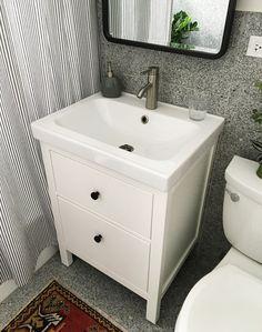 Unique Powder Room Sink Cabinets