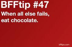 BFFtip #47...reminds me of jordan! haha