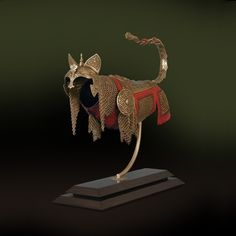 Armor for cats and mice. LOVE IT MUCHLY