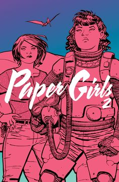 Paper Girls Vol. 2  Intrepid young newspaper deliverers Erin, Mac, and Tiffany find themselves launched from 1988 to a distant and terrifying future...the year 2016.